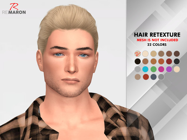 OE1024 Hair Retexture by remaron at TSR image 1313 Sims 4 Updates