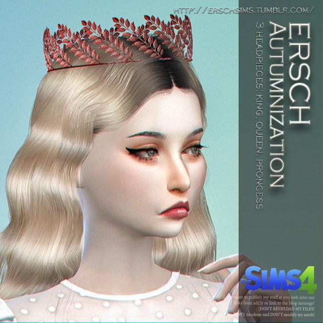 Autumnization Crowns at ErSch Sims image 1314 Sims 4 Updates