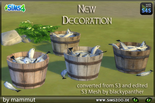 Fish bucket by mammut at Blacky's Sims Zoo image 13610 Sims 4 Updates
