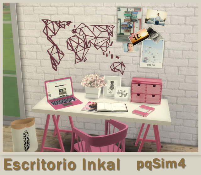 Inkal office set at pqSims4 image 1389 Sims 4 Updates