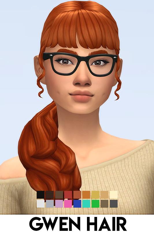 GWEN HAIR at Vikai image 1396 Sims 4 Updates