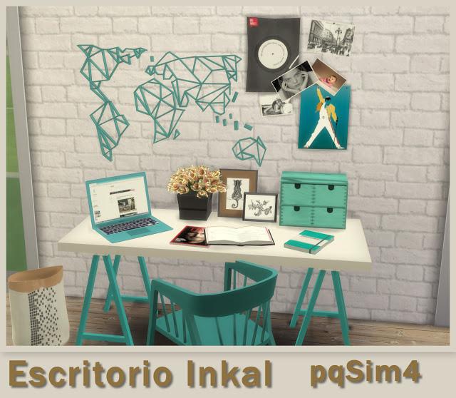 Inkal office set at pqSims4 image 1399 Sims 4 Updates
