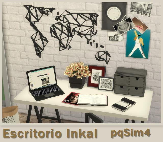 Inkal office set at pqSims4 image 14010 Sims 4 Updates