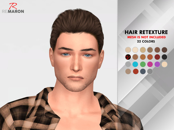 OE1024 Hair Retexture by remaron at TSR image 1412 Sims 4 Updates