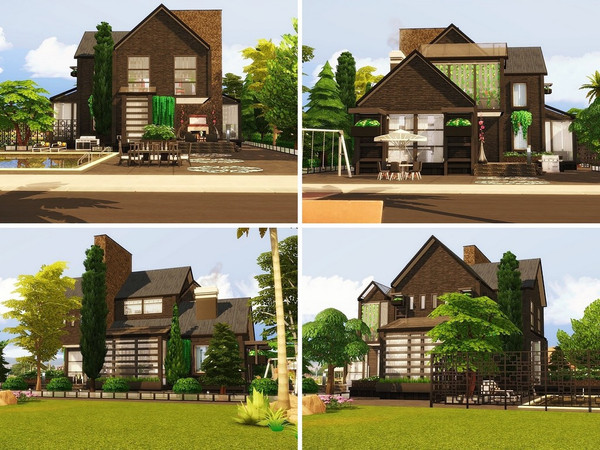 Golden Life house by MychQQQ at TSR image 1417 Sims 4 Updates