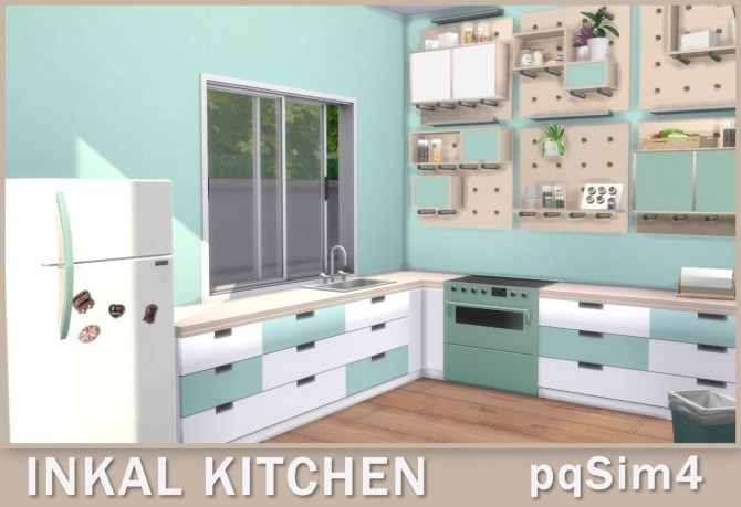 Sims 4 Inkal Kitchen at pqSims4