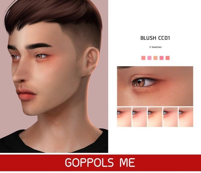 GPME Blush CC01 at GOPPOLS Me image 1434 670x577 Sims 4 Updates