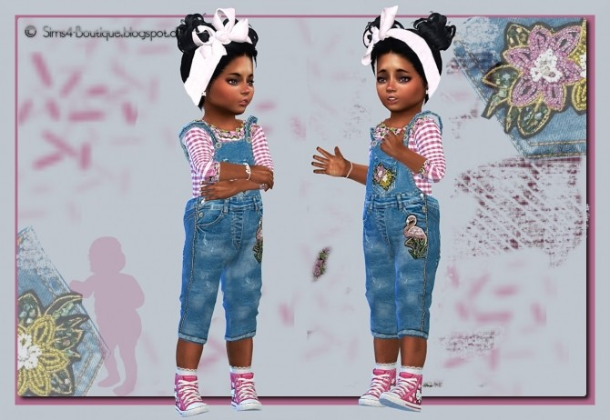 Sims 4 Designer Set Made in Italy for little Girlis at Sims4 Boutique