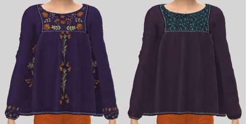 Sketchbookpixels January 3T4 top for kids at Simiracle image 1453 Sims 4 Updates