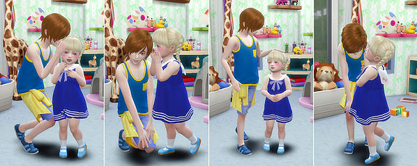 Brothers & Sisters poses at A luckyday image 1511 Sims 4 Updates