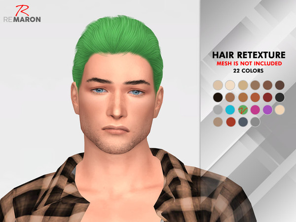 OE1024 Hair Retexture by remaron at TSR image 1513 Sims 4 Updates