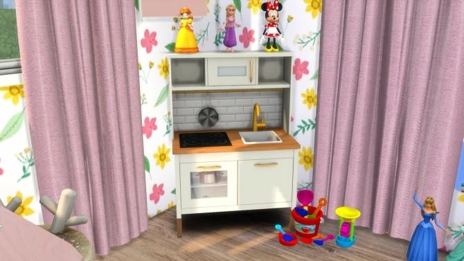 Sims 4 TODDLER GIRL ROOM at MODELSIMS4