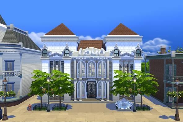 Swan Restaurant at Milki2526 image 1582 Sims 4 Updates