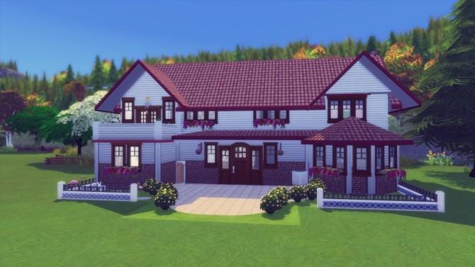 Sims 4 Hindquarter Hideaway house at Simming With Mary