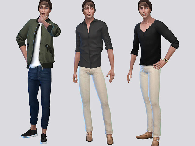 Sims 4 Jorden Hanson at MSQ Sims
