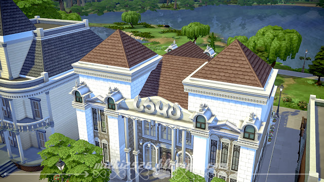 Swan Restaurant at Milki2526 image 1602 Sims 4 Updates