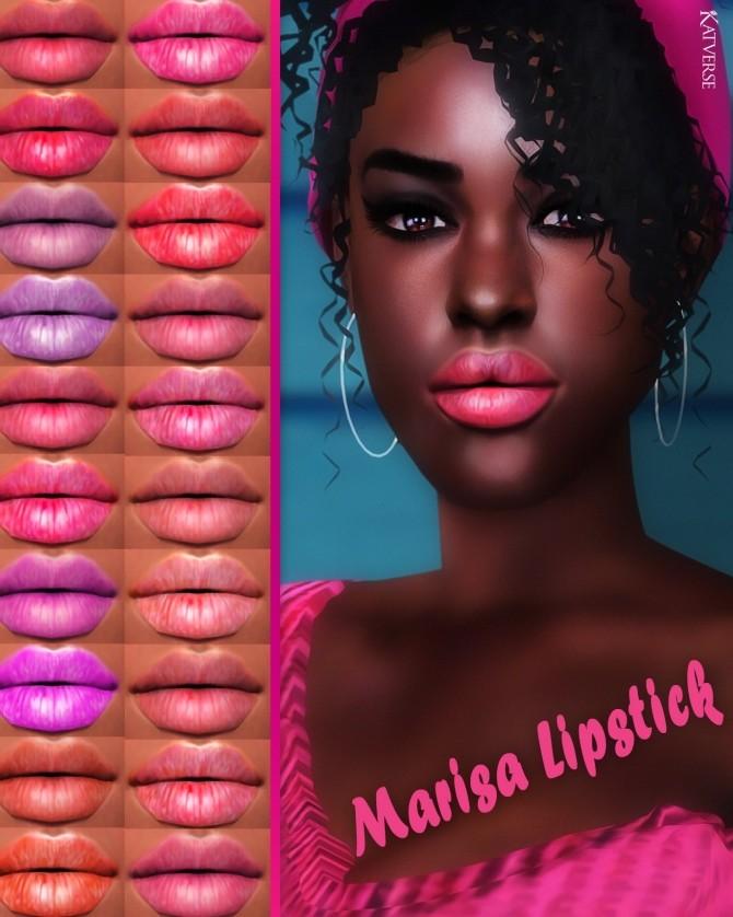 Sims 4 Marisa Lipstick at Katverse