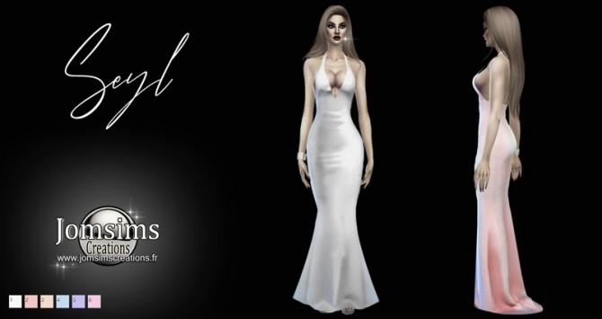 Sims 4 Seyl dress at Jomsims Creations