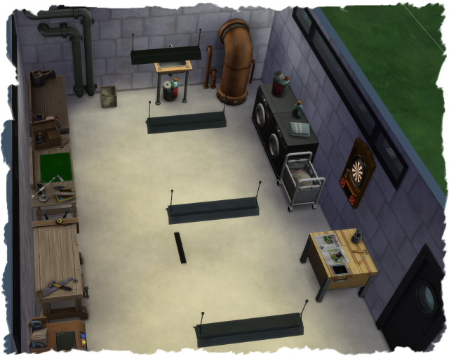 Sims 4 Dream house with furniture by Chalipo at All 4 Sims