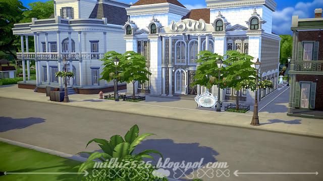 Swan Restaurant at Milki2526 image 1614 Sims 4 Updates