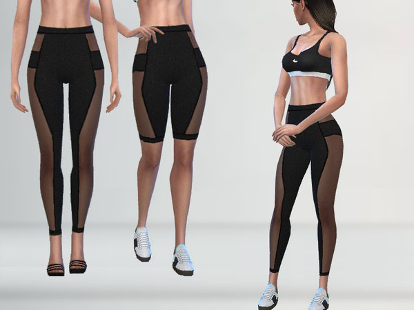 Athletic Leggings by Puresim at TSR image 1616 Sims 4 Updates