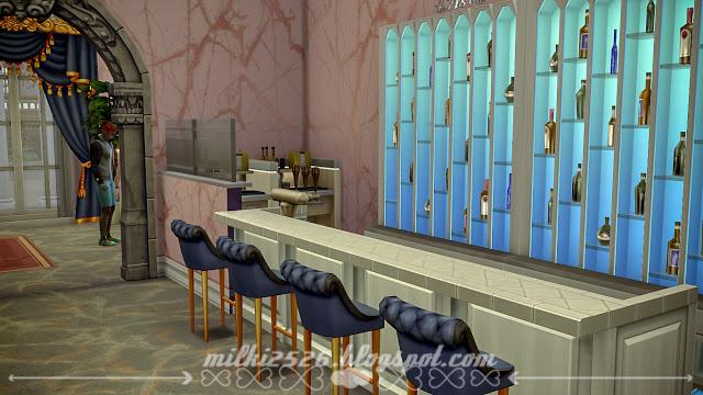 Swan Restaurant at Milki2526 image 1642 Sims 4 Updates