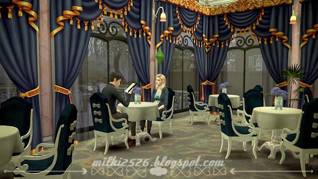 Swan Restaurant at Milki2526 image 1652 Sims 4 Updates