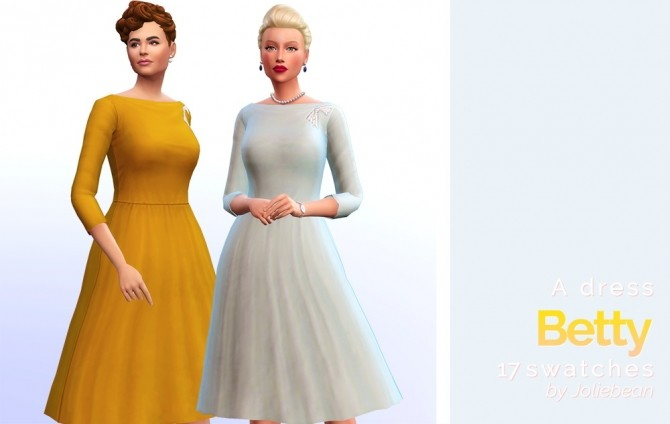 5th avenue set of 6 female clothes at Joliebean image 1687 670x424 Sims 4 Updates