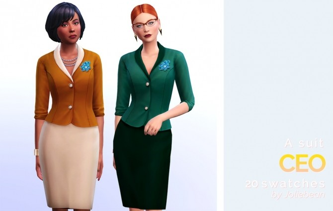 5th avenue set of 6 female clothes at Joliebean image 1697 670x424 Sims 4 Updates