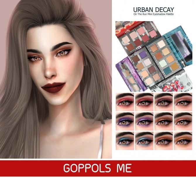 Sims 4 On The Run Mini Eyeshadow Palette at GOPPOLS Me