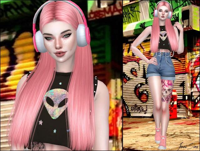 Sims 4 Base Game compatible City Nights Headphones at Jenni Sims