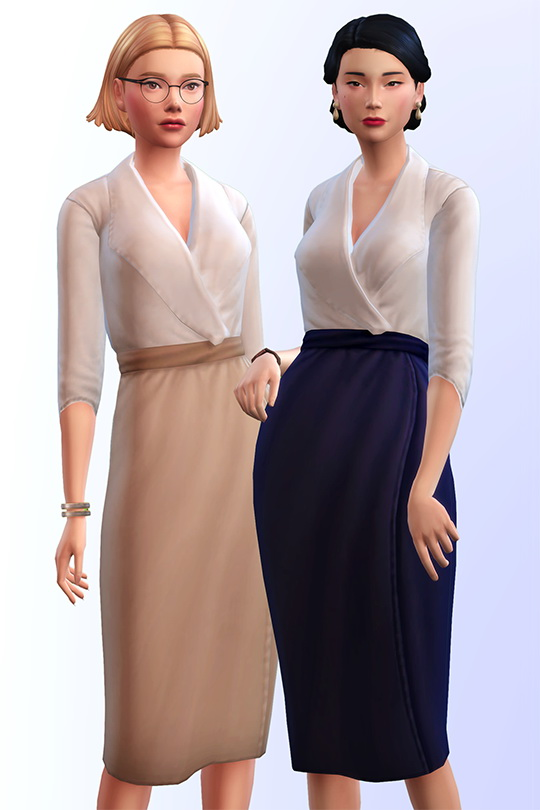 5th avenue set of 6 female clothes at Joliebean image 18113 Sims 4 Updates