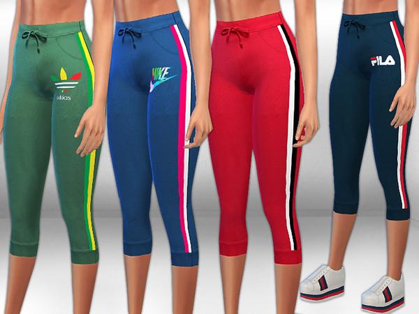 Sims 4 Activewear Bermuda Pants by Saliwa at TSR