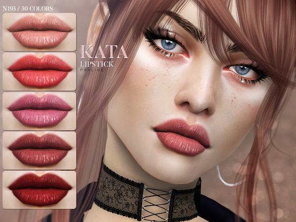 Sims 4 Kata Lipstick N193 by Pralinesims at TSR