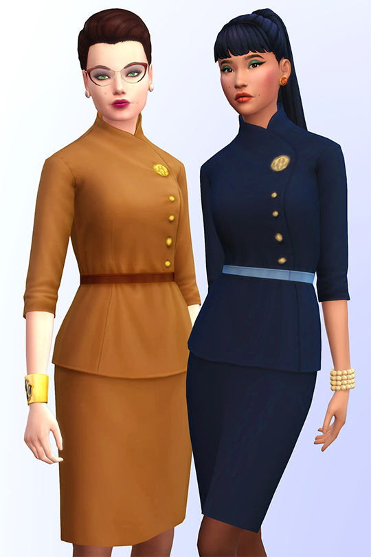 5th avenue set of 6 female clothes at Joliebean image 18212 Sims 4 Updates