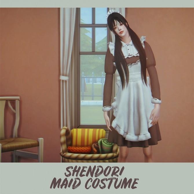 Maid Costume at SHENDORI SIMS image 1823 670x670 Sims 4 Updates