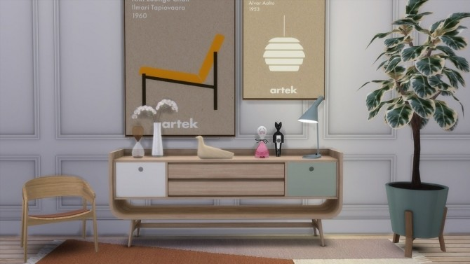 Sims 4 ICON POSTER at Meinkatz Creations