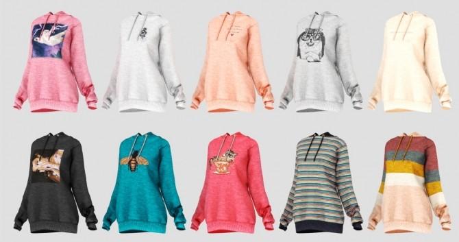 Sims 4 Olivia Sweater at Daisy Pixels