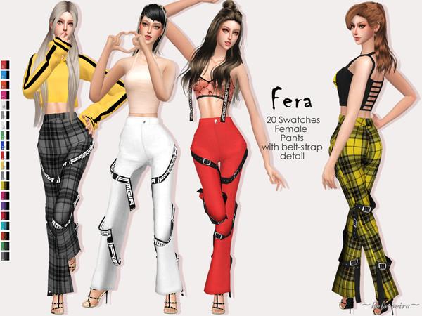 FERA Pants by Helsoseira at TSR image 2027 Sims 4 Updates