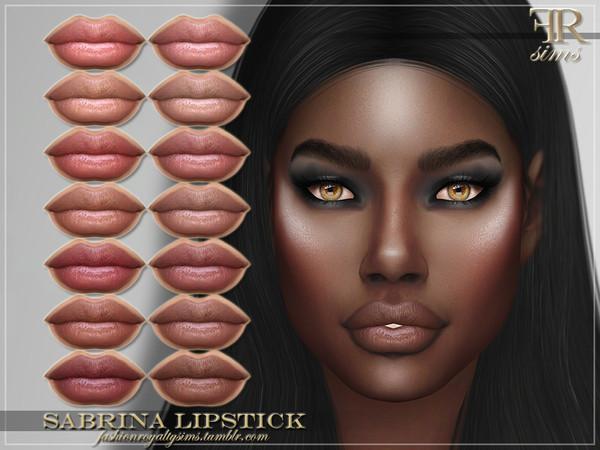 Sims 4 FRS Sabrina Lipstick by FashionRoyaltySims at TSR