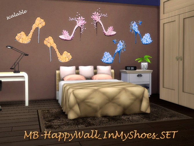 In My Shoes walls set by matomibotaki at TSR image 2105 670x503 Sims 4 Updates