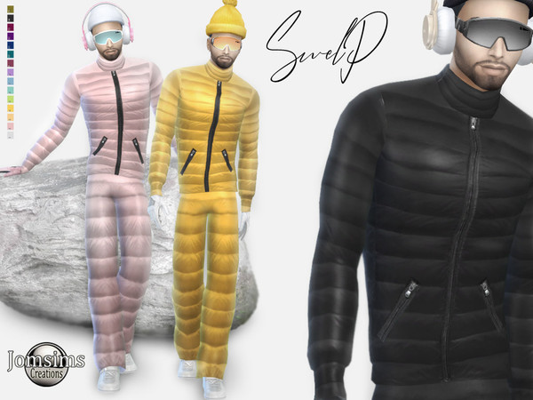 Sims 4 Swelp Snow male outfit by jomsims at TSR