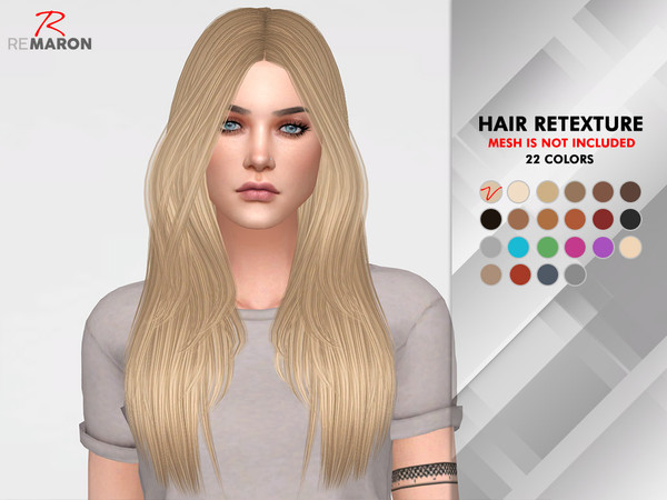 Emily Hair Retexture by remaron at TSR image 2146 Sims 4 Updates