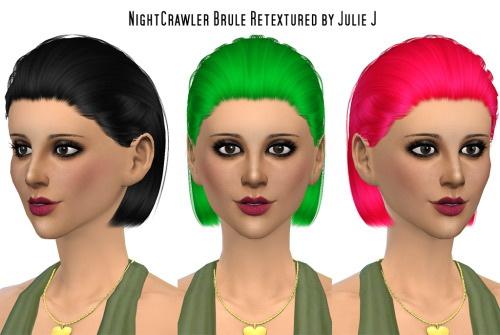 Mini Hair Retexturing Dump at Julietoon – Julie J image 2171 Sims 4 Updates