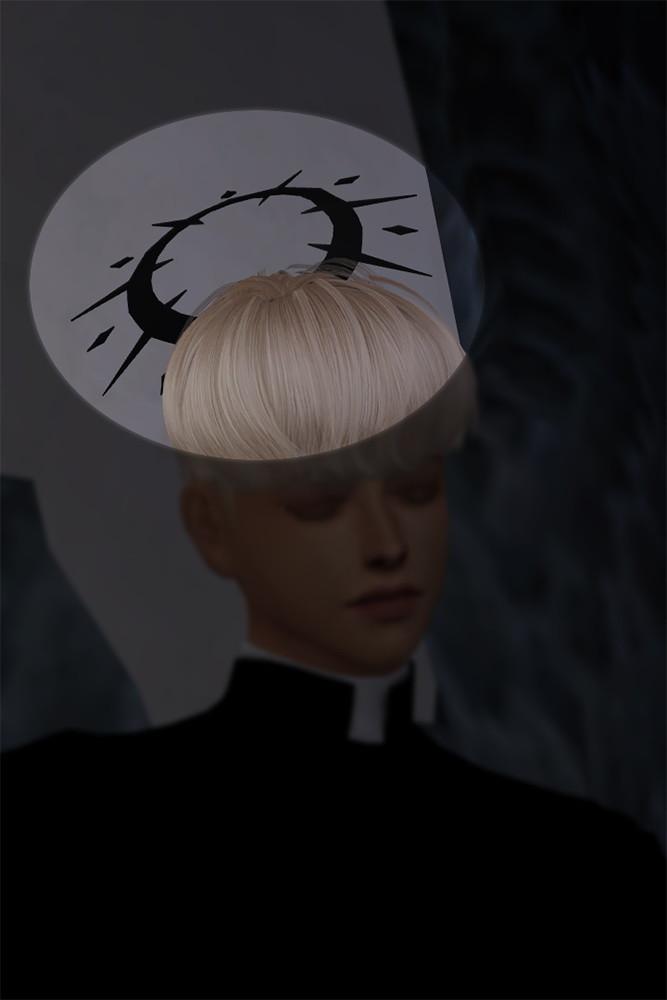 Night of Temperance head accessory at SHENDORI SIMS image 2183 667x1000 Sims 4 Updates