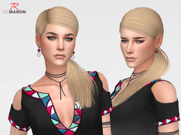 Twinkle Hair Retexture by remaron at TSR image 219 Sims 4 Updates
