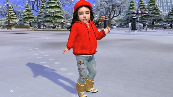 Sims 4 Little Victoria by Elena at Sims World by Denver