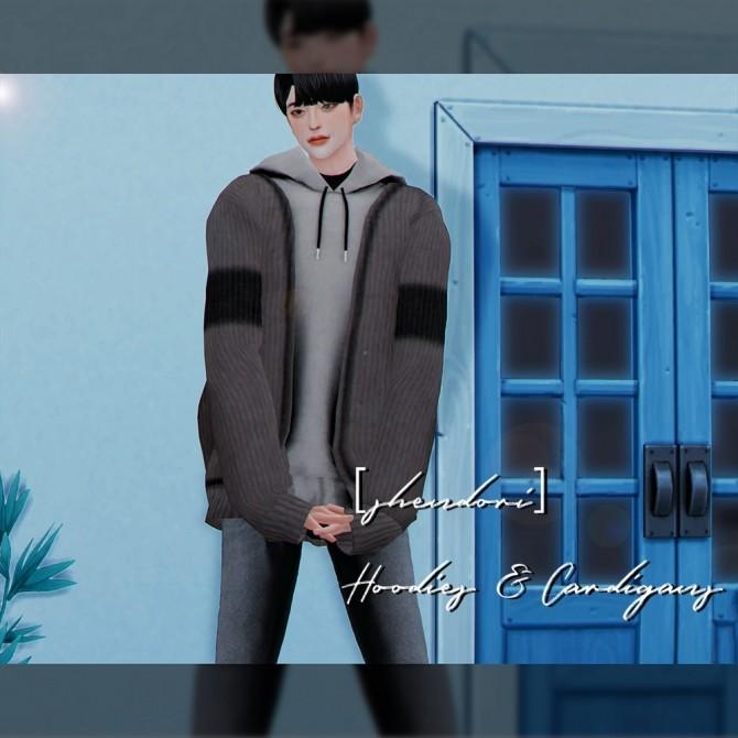 Sims 4 Hoodies & Cardigans at SHENDORI SIMS