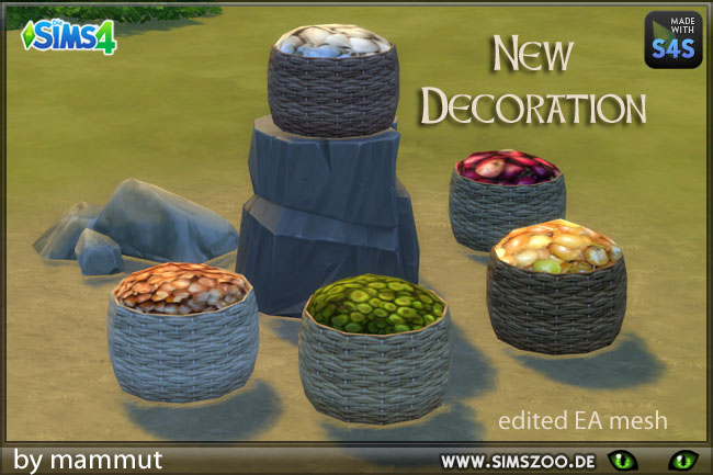Basket Supplies by mammut at Blacky's Sims Zoo image 2244 Sims 4 Updates