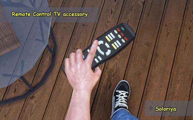 Remote Control TV acc at Soloriya image 2251 670x418 Sims 4 Updates